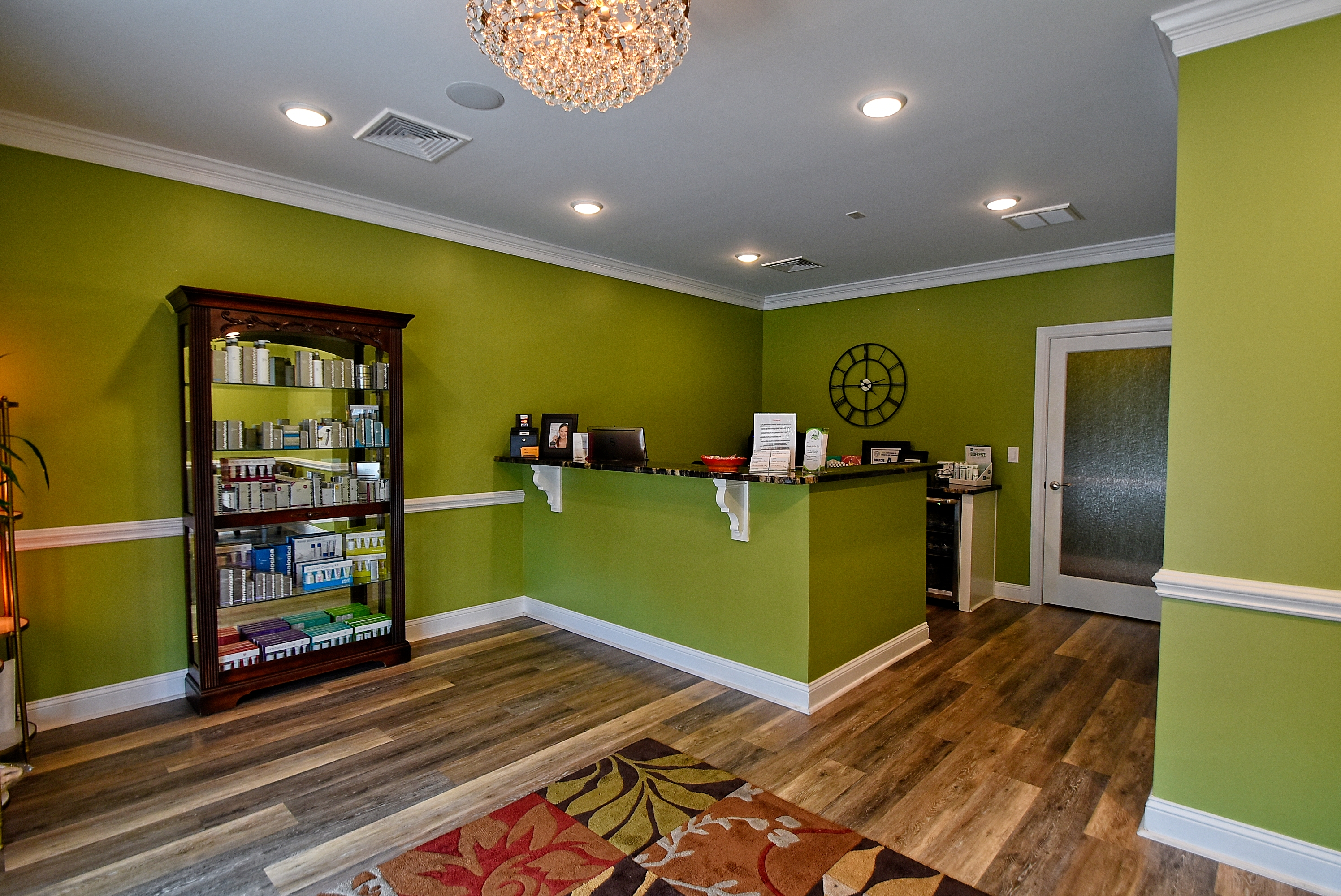 Sacred Willow Spa Reception Area